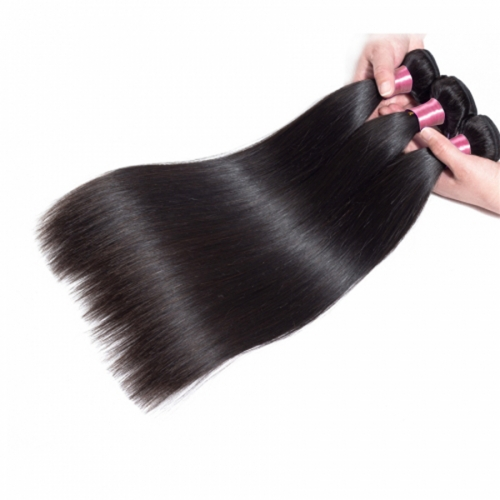 【12A 3PCS】Brazilian Straight Virgin Human Hair 3 bundles High Quality Hair Bundles Free Shipping